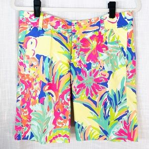 Lilly Pulitzer The Chipper Short Tropical Size 2